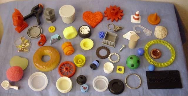 Co je 3D vytisknuto ?